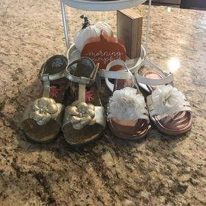 2 Pairs Of Toddler Sandals
